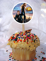 Divergent Cupcake Toppers