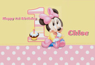Minnie Mouse 1st Year Poster
