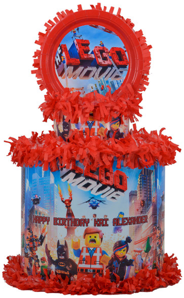 The Lego Movie Pinata