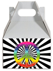 Peace party favor box