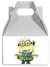 Minion party favor box