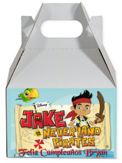 Jake party favor box