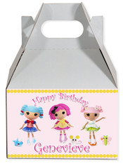 Lalaloopsy party favor box