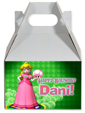 Princess Peach party favor box