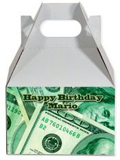Money party favor box