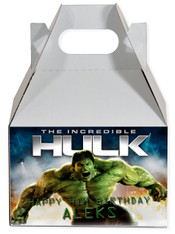 Hulk party favor box