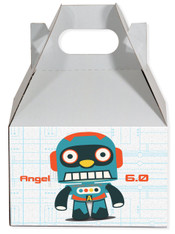 Robot 3.0 party favor box