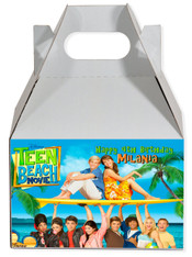 Teen Beach movie party favor box