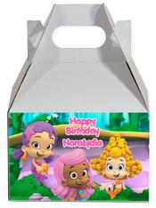 Bubble Guppies party favor box
