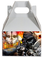 Call of Duty Ghost party favor box