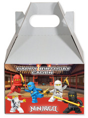 Ninjago party favor box