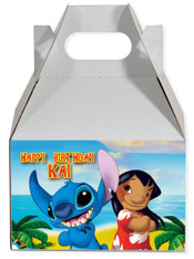Lilo & Stitch party favor box