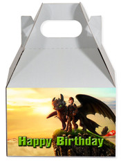 How to train your dragon party favor box