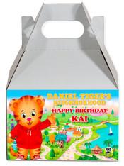 Daniel's Tiger party favor box