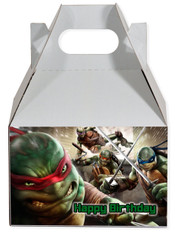 Ninja Turtles party favor box