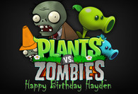 Plants Vs Zombies poster