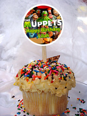 The Muppets cupcake toppers
