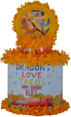 Dragon Loves Tacos pinata