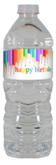 Art personalized water bottle labels