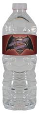 Batman vs Superman water bottle labels
