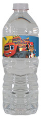Blaze and the monster machines water bottle labels.