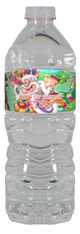 Candy land personalized water bottle labels