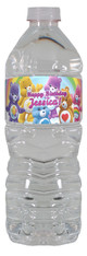 Care Bears personalized water bottle labels