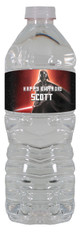 Darth Vader personalized water bottle labels