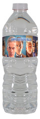 Doctor Who personalized water bottle labels