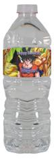 Dragon Ball Z personalized water bottle labels