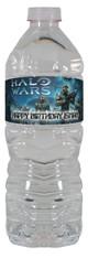 Halo Wars personalized water bottle labels