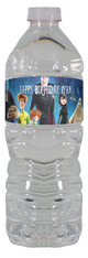Hotel Transylvania 2 personalized water bottle labels