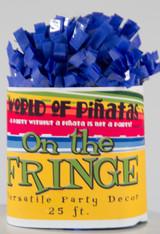 Bright Blue Tissue Garland Festooning