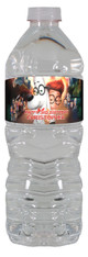 Mr. Peabody and Sherman water bottle labels