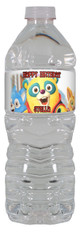 Special Agent Oso water bottle label