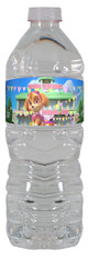 Paw Patrol Skye water bottle labels