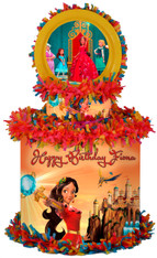 Elena of Avalor personalized pinata