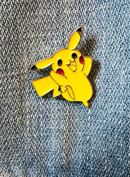Pikachu Enamel Pin