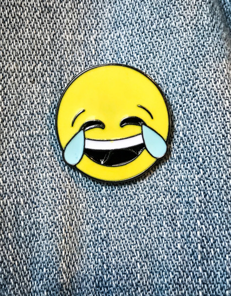 Emoji LOL Enamel Pin