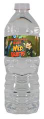 Wild Kratts water bottle labels