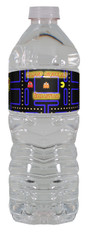Pac-Man Arcade Game water bottle labels