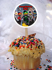 Lego Ninjago Movie cupcake topper