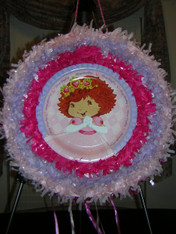 Strawberry Princess Pull String Pinata