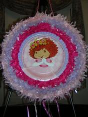 Strawberry Princess Pull String Pinata