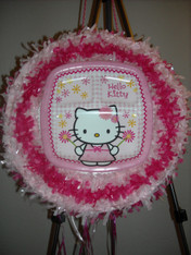 Hello Kitty II Pull String Pinata