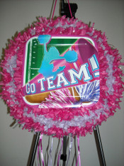 Go Team Pull String Pinata