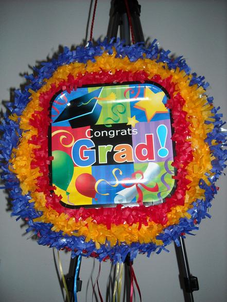Graduation Pull String Pinata