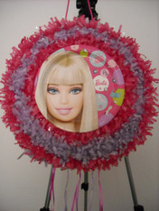 Barbie Pull String Pinata