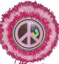Peace Pull String Pinata