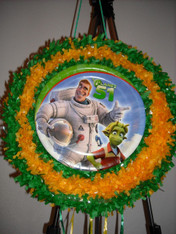 Planet 51 Pull String Pinata